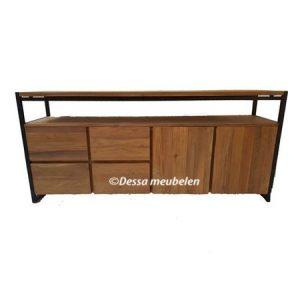 teak-dressoir-bien-200cm