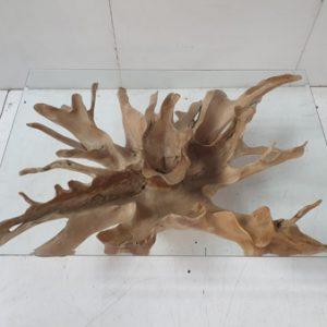 wortel salontafel bloem